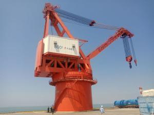核电雷竞技ios下载监控-福清核电站大件码头MQ800t门座机